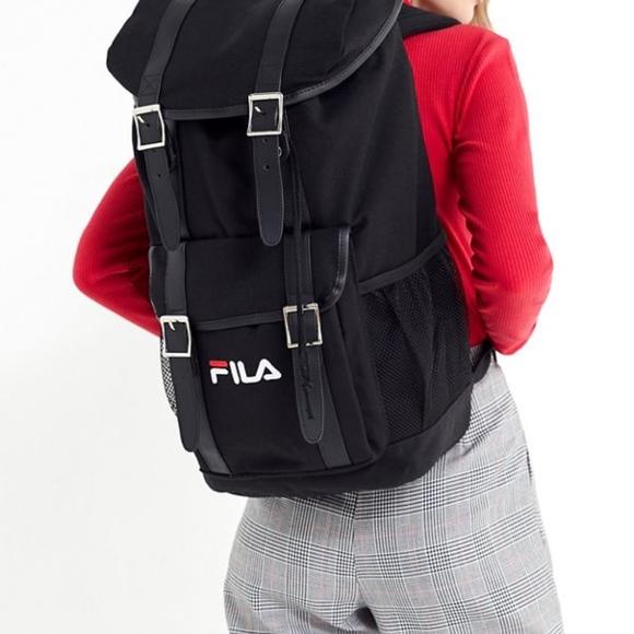 0addd3872ad7 NWT FILA Heritage Rucksack Backpack Black
